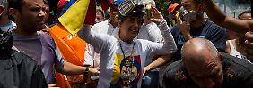 "Mindestens zwei Tote in Caracas: Venezuela aktiviert ""Plan Zamora"""