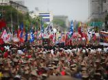 """Massenproteste gegen Maduro: USA beobachten Venezuela """"genau"""""""
