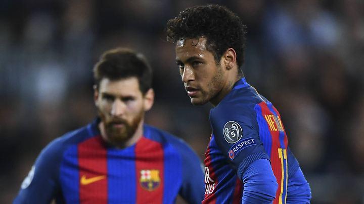 Und nun? Lionel Messi und Neymar.