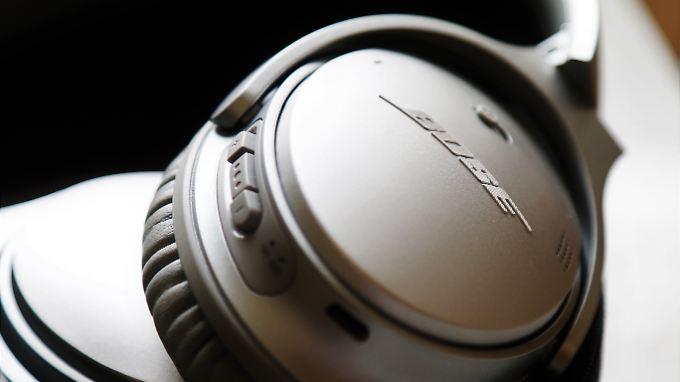 Boses QuietComfort 35 sind tolle Kopfhörer - die App ist aber möglicherweise etwas zu neugierig.