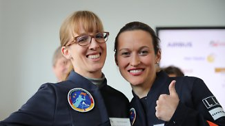Erste deutsche Frau im All: Nicola Baumann und Insa Thiele-Eich ringen um Astronauten-Job