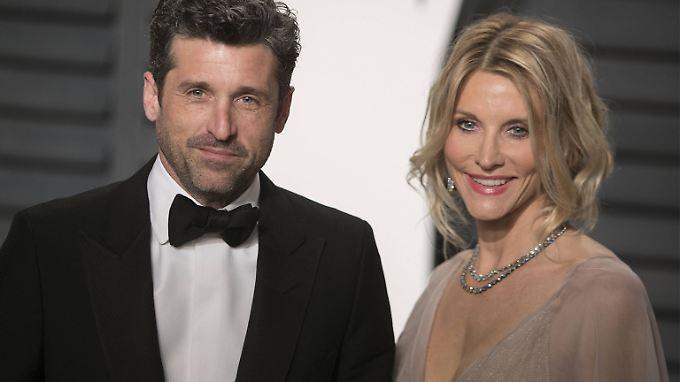 Wieder glücklich: Patrick und Jillian Dempsey.