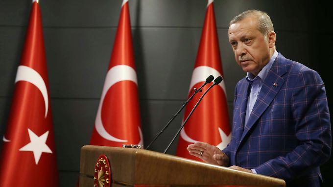 Recep Tayyip Erdogan hat bei der OSZE mögliche PKK-Anhänger ausgemacht.