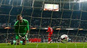 Olympique Lyon setzte sich im Elfmeterschießen bei Beşiktaş Istanbul durch.