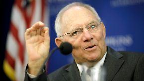 Aufbau eines Europäischen Währungsfonds: Schäuble will Euro-Krisenländer ohne IWF retten