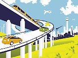 Zeitersparnis auf kurzen Wegen: Wo die Bahn das Flugzeug schlagen kann