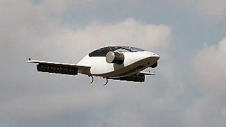 Luft-Taxi der Zukunft: Elektro-Flieger für Personenverkehr entwickelt