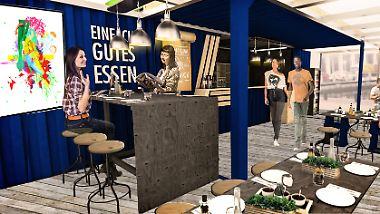 Neue Runde im Discounter-Kampf: Aldi lockt Kunden mit Mini-Restaurant