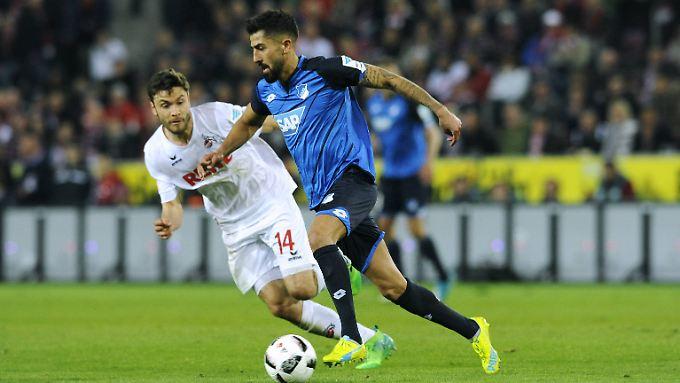 Kerem Demirbay sorgte mit seinem späten 1:1 für Hoffenheimer Glücksgefühle beim 1. FC Köln.