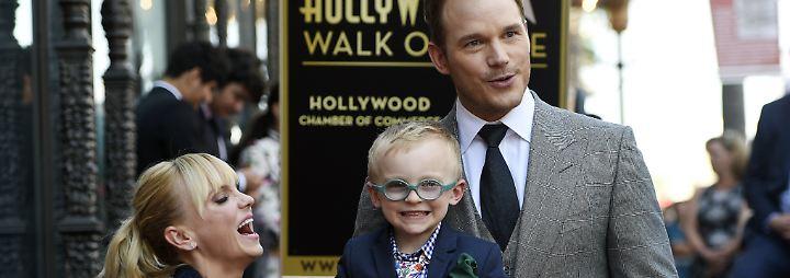 "Promi-News des Tages: Chris Pratt enthüllt Stern auf ""Walk of Fame"""