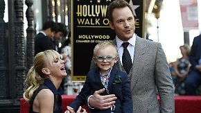 "Promi-News des Tages: Chris Pratt enthüllt Stern auf ""Walk of Fame"""