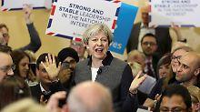 Tories hängen Labour-Partei ab: Umfrage verspricht May absolute Mehrheit
