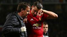 ManUnited-Star schwer verletzt: Ibrahimovic droht Karriereende