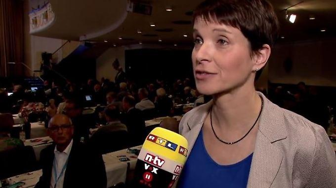 """Frauke Petry im n-tv Interview: """"Rechts und links sind sehr flexible Begriffe"""""""
