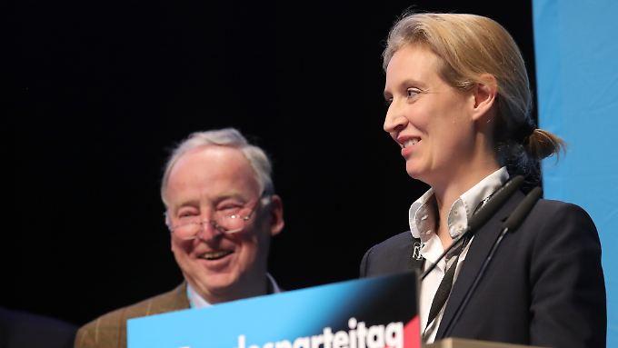 Versöhnliche Worte an Petry: Gauland und Weidel führen AfD in den Wahlkampf