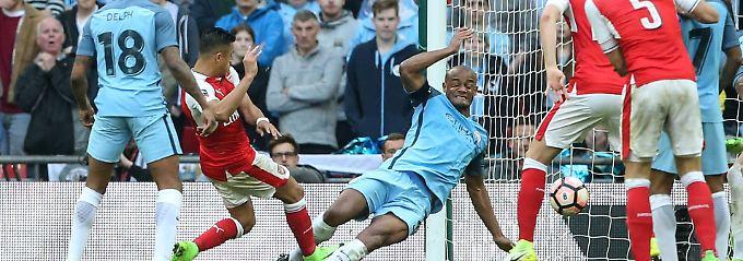 Letzte Titelchance gewahrt: Arsenal schlägt City und erreicht Pokalfinale