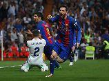 Messi entscheidet Clásico: Barça nimmt Real Tabellenführung ab