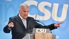 CSU-Chef will weitermachen: Seehofers Ego schlägt alle