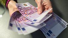 Große Scheine, kleine Münzen: Das gilt für Bargeld