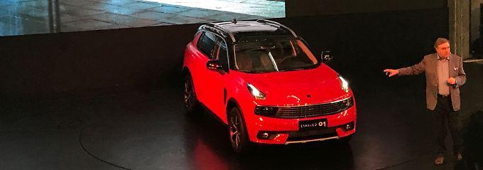 Auf der Shanghai Auto präsentiert Lynk den 01. Ein SUV, dass bald auch in Europa fahren soll.