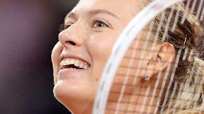 WTA-Turnier in Stuttgart: Scharapowa kehrt nach Dopingsperre auf Tennisbühne zurück