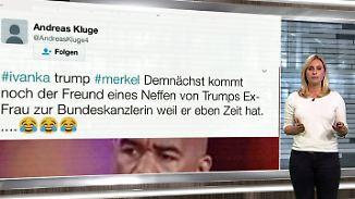 n-tv Netzreporterin: User wundern sich über Teilnahme von Ivanka Trump am W20-Gipfel