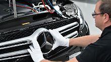 Das Jahr hat für Daimler sehr gut begonnen.