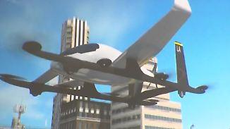 Tests mit fliegenden Taxis: Uber will in drei Jahren abheben