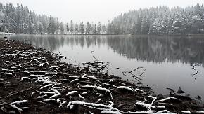 Aprilwettermix im ganzen Land: Im Süden ist's kalt, nass und winterlich