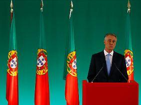 Keine Krise im Bankensystem und keine Blase am Immobilienmarkt: Präsident Anibal Cavaco Silva kennt die Vorzüge Portugals (Archivbild).