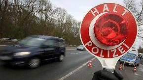 BGH-Urteil zu Fahndungsmethode: Polizei darf Zufallskontrolle vortäuschen