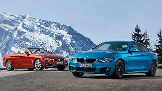 Für Sportfreunde und Sonnenanbeter, BMW hat die 4er-Reihe auf Vordermann gebracht.