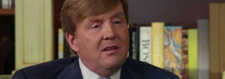Niederländischer König wird 50: Willem-Alexander gibt persönliches Geburtstagsinterview