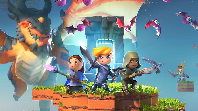 """""""Portal Knights"""" ist das """"Beste deutsche Spiel"""" des Jahres."""