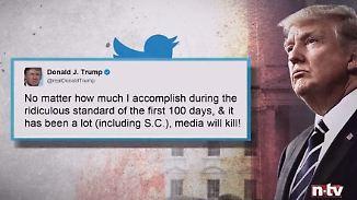 """""""Lächerlicher Standard"""": Trump wirft eigenen 100-Tage-Plan über den Haufen"""
