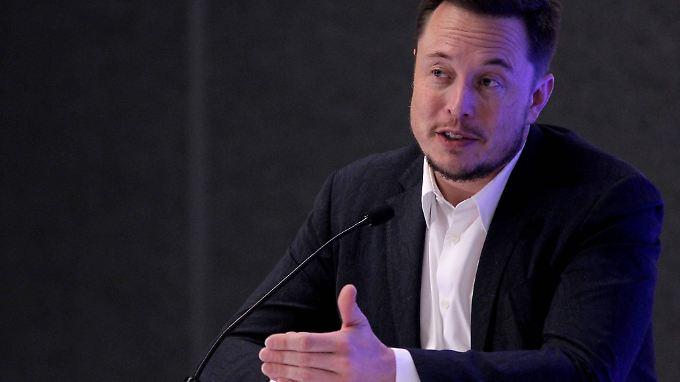Will nicht nur hoch hinaus: Elon Musk besitzt offenbar einen Riesenbohrer, um Tunnel zu graben.