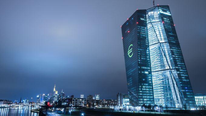 Draghis Entscheidungen dürfte auch bei der EZB in Frankfurt für Geschäftigkeit gesorgt haben.
