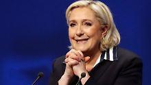 Vor Stichwahl in Frankreich: Marine Le Pen holt auf