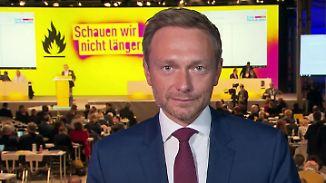 """Christian Lindner im n-tv Interview: CDU und SPD """"sind beide keine Verheißungen"""""""