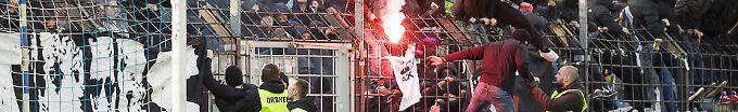 Der Sport-Tag: 19:37 Krawalle bei Brandenburg-Derby