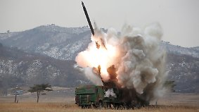 Erneute Provokation: Nordkorea testet erfolglos weitere Rakete