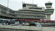 Herrenloser Koffer: Flugverkehr in Berlin-Tegel ruht kurzzeitig
