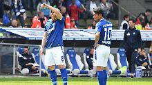 VfB feiert in letzter Minute: Karlsruher SC steigt ab in Liga drei