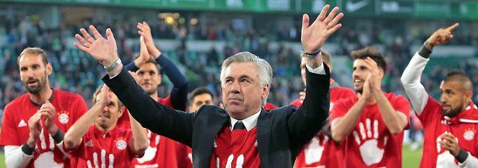 Wolfsburger nur Statisten: FC Bayern kantert sich zur Meisterschaft