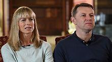 Kate und Gerry McCann beim BBC-Interview.