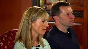 Maddie seit zehn Jahren verschwunden: Ermittler geben McCanns neue Hoffnung