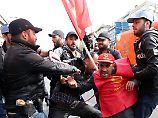"""Nein zum Diktator"": Viele Festnahmen bei Mai-Demos in Istanbul"