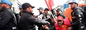 """Nein zum Diktator"": 200 Festnahmen bei Mai-Demos in Istanbul"
