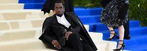 Extravaganter geht's kaum: Strapse und Schleier bei der Met Gala