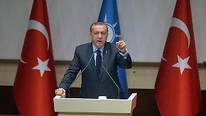 """""""Sind nicht der Lakai Europas"""": Erdogan stellt der EU Ultimatum"""